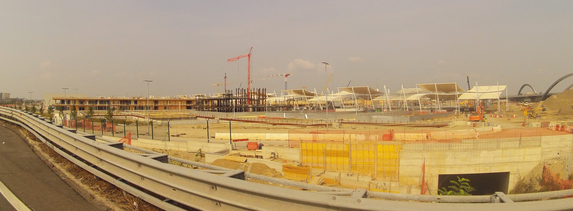 EXPO Construction site