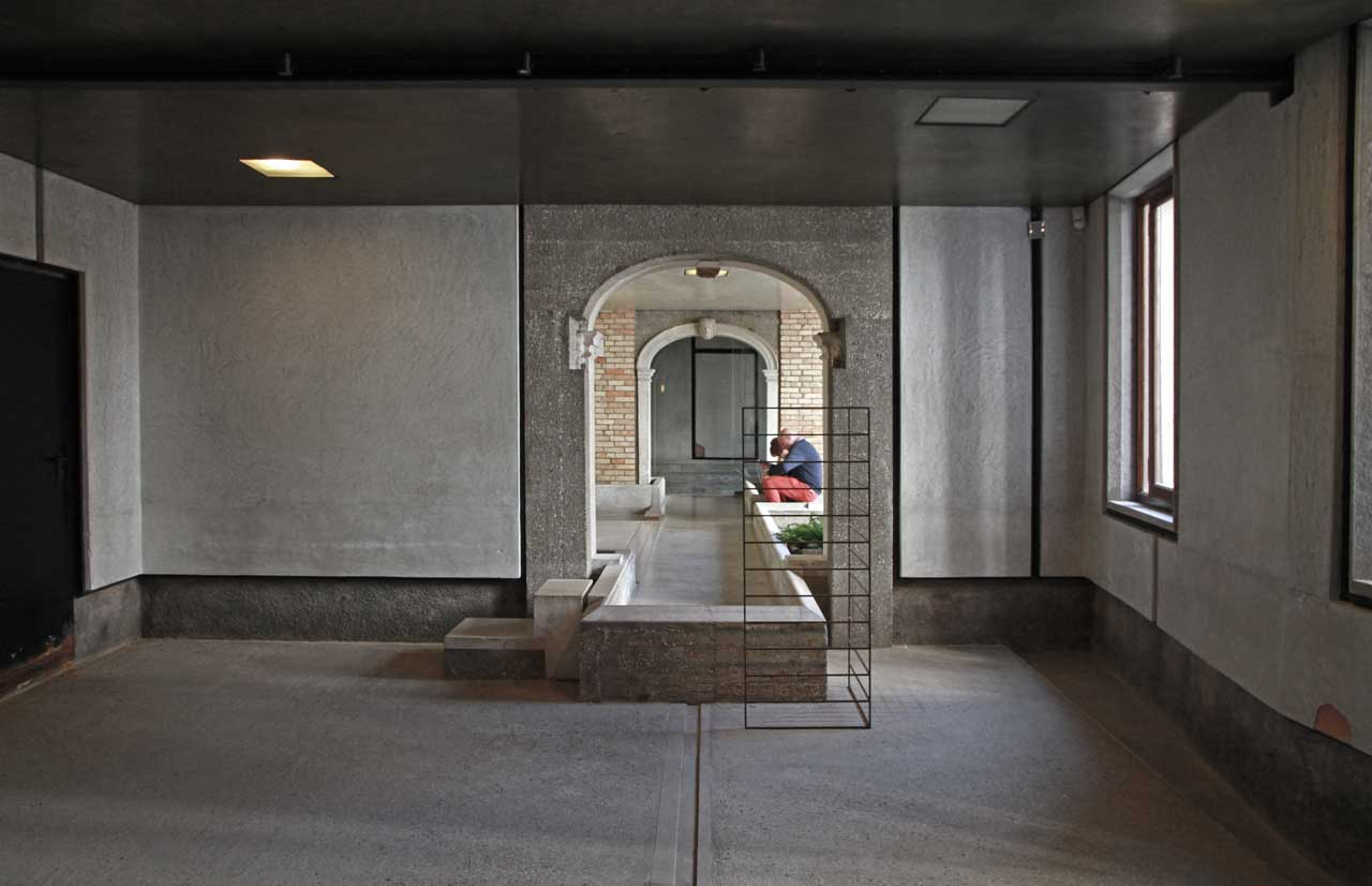 Museum Querini Stampalia Foundation Carlo Scarpa Venice on One Story Floor Plan