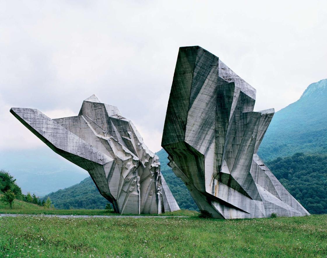 Jugoslavia abandoned monuments
