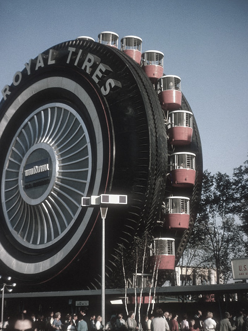 New York World's Fair 1964 - Uniroyal Giant Tire