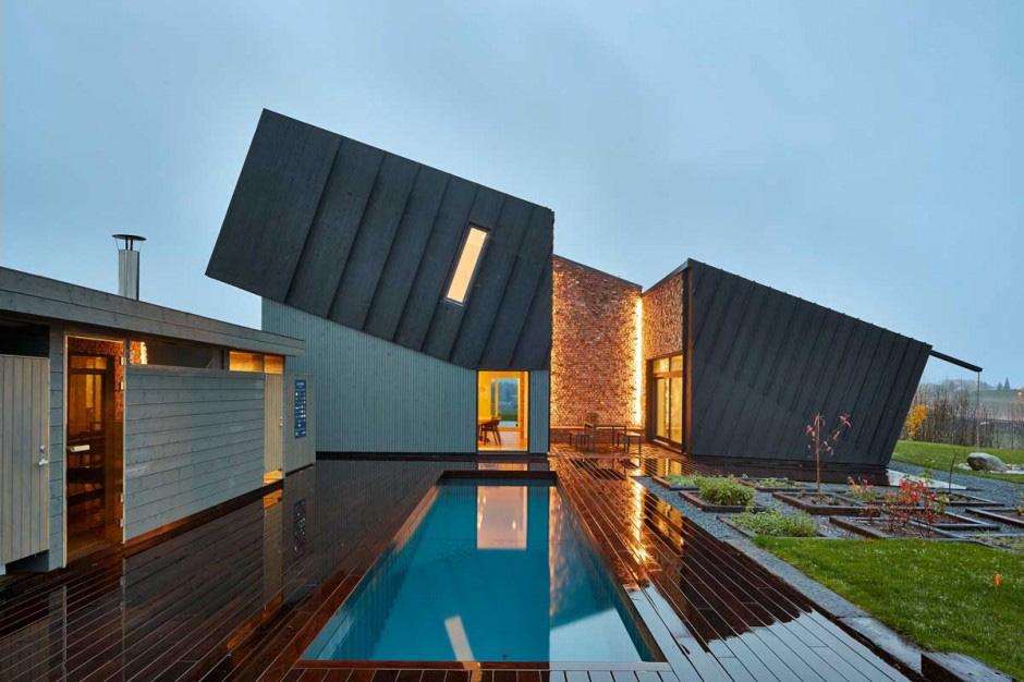 Zero Energy House By Sn Hetta Great Architecture Meets