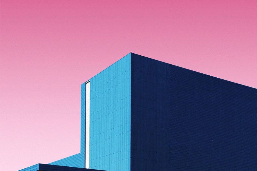 The candy colored minimalist photographer matt crump for Minimalist architecture theory