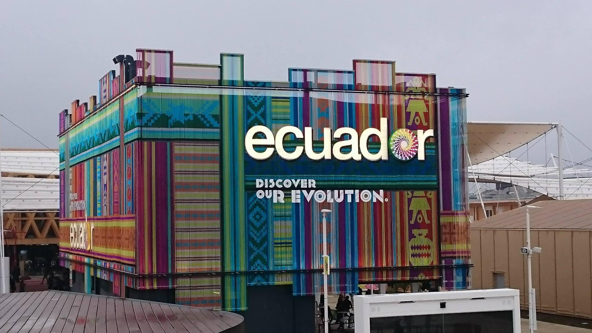 Expo 2015 Stand Ecuador : Inauguration days at expo our impression top