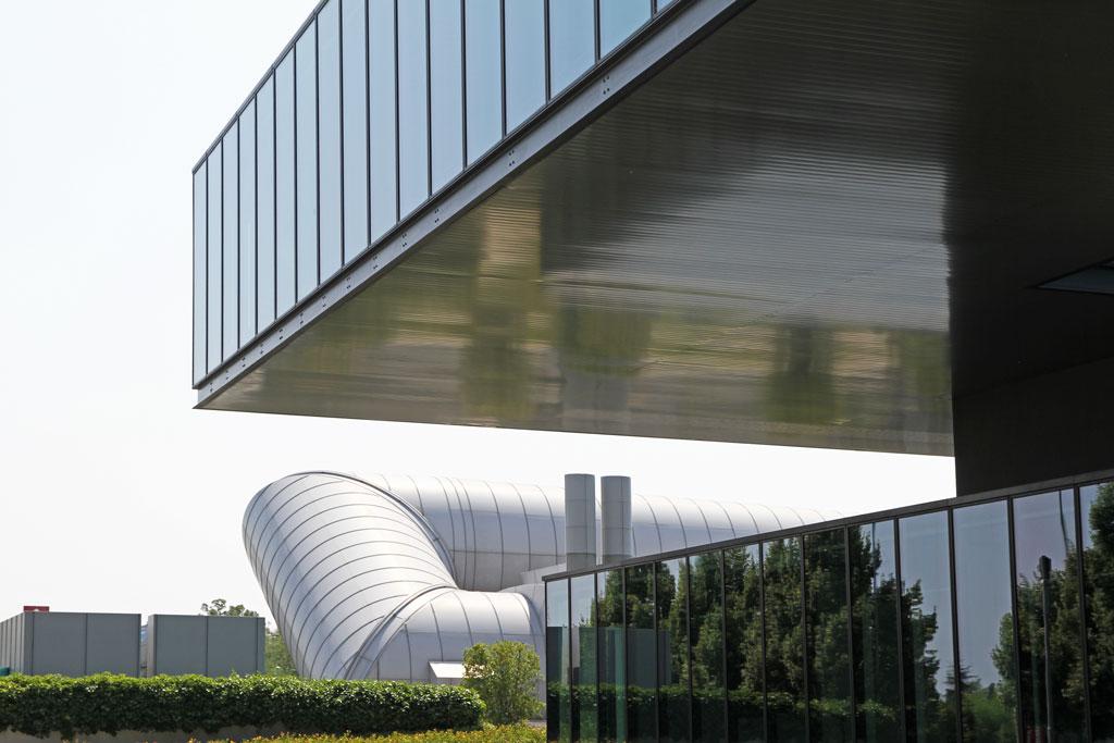 Ferrari research center and wind tunnel