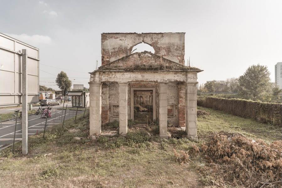 Abandoned buildings Milan
