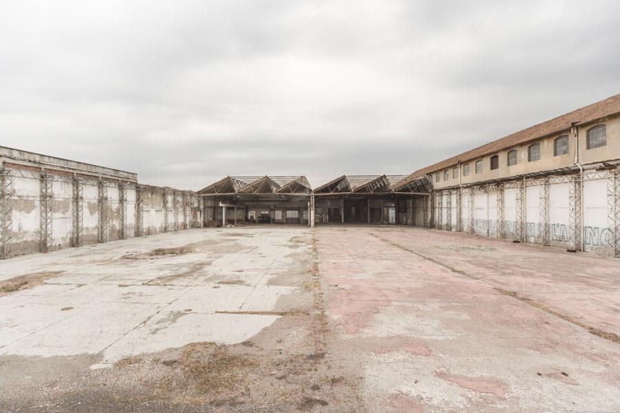 Abandoned buildings in Milan