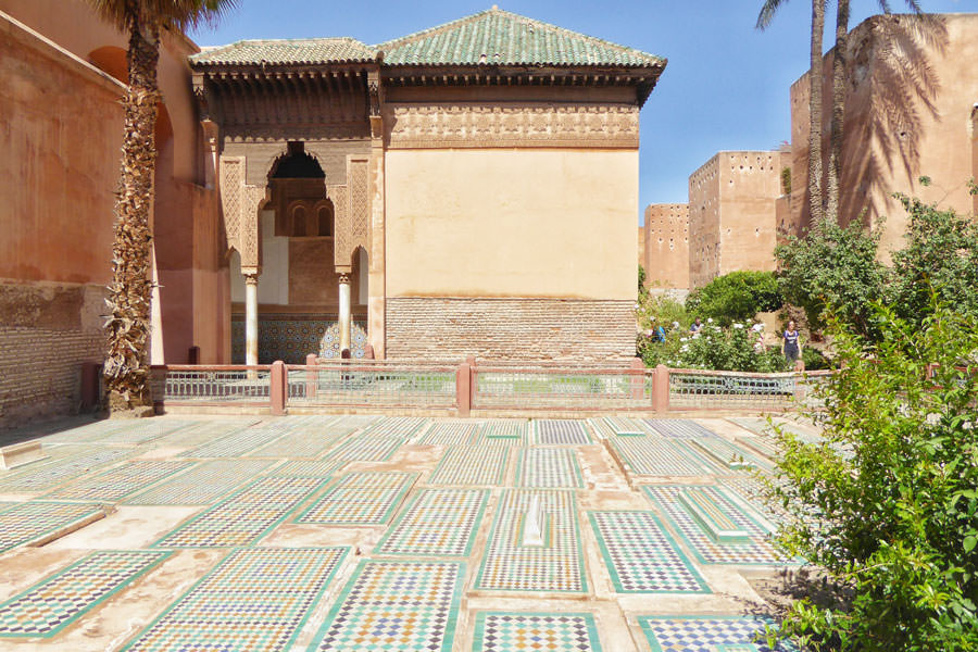 Saaditi tombs Marrakech