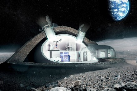 3D Moon Base