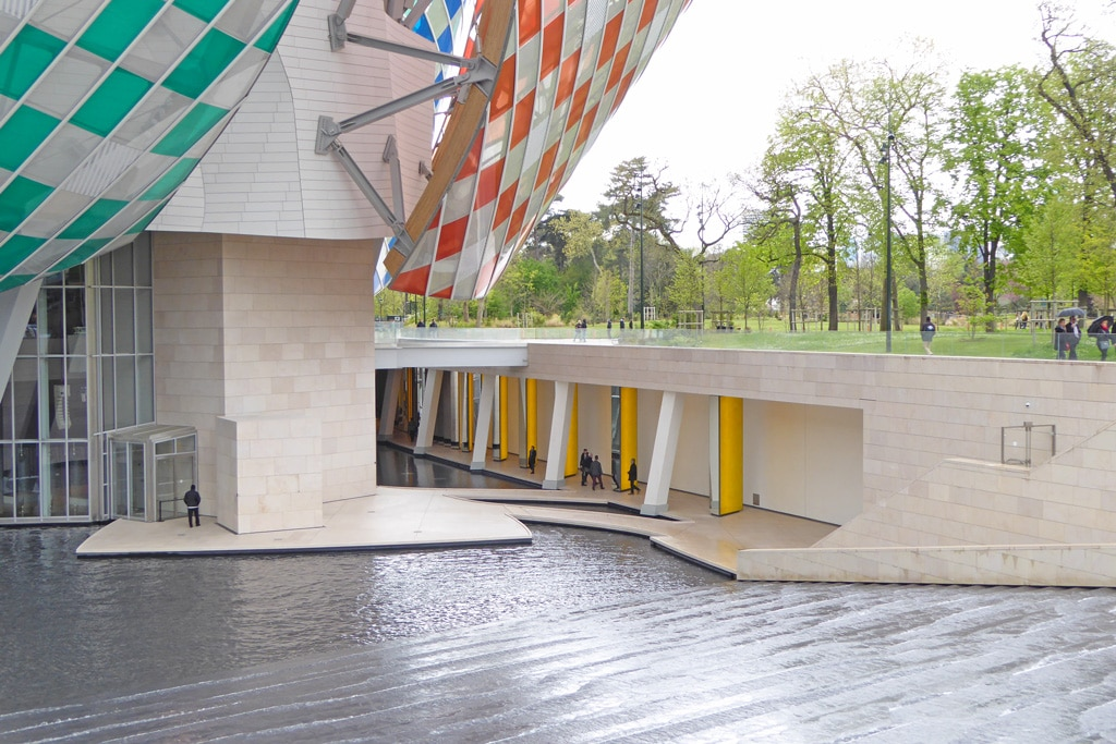 Foundation Louis Vuitton Frank Gehry