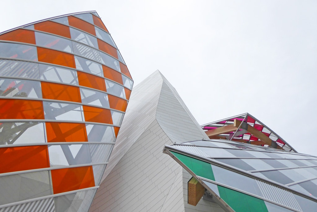 Daniel Buren Foundation Louis Vuitton
