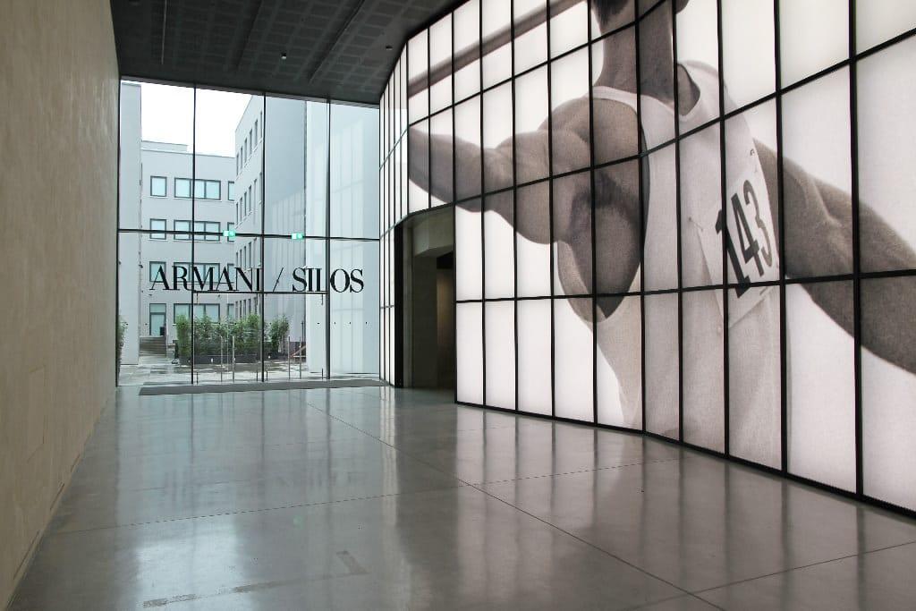 Armani Silos Entrance