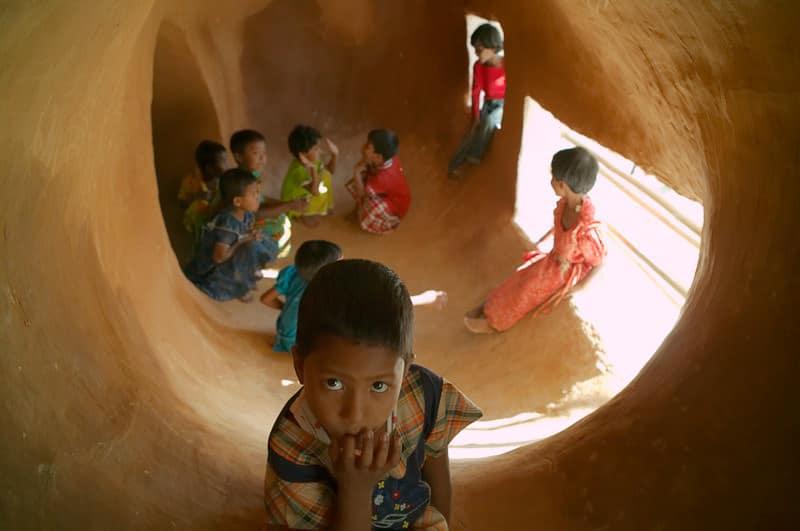 METISCHOOL in Bangladesh by von Anna Heringer und Eike Roswag