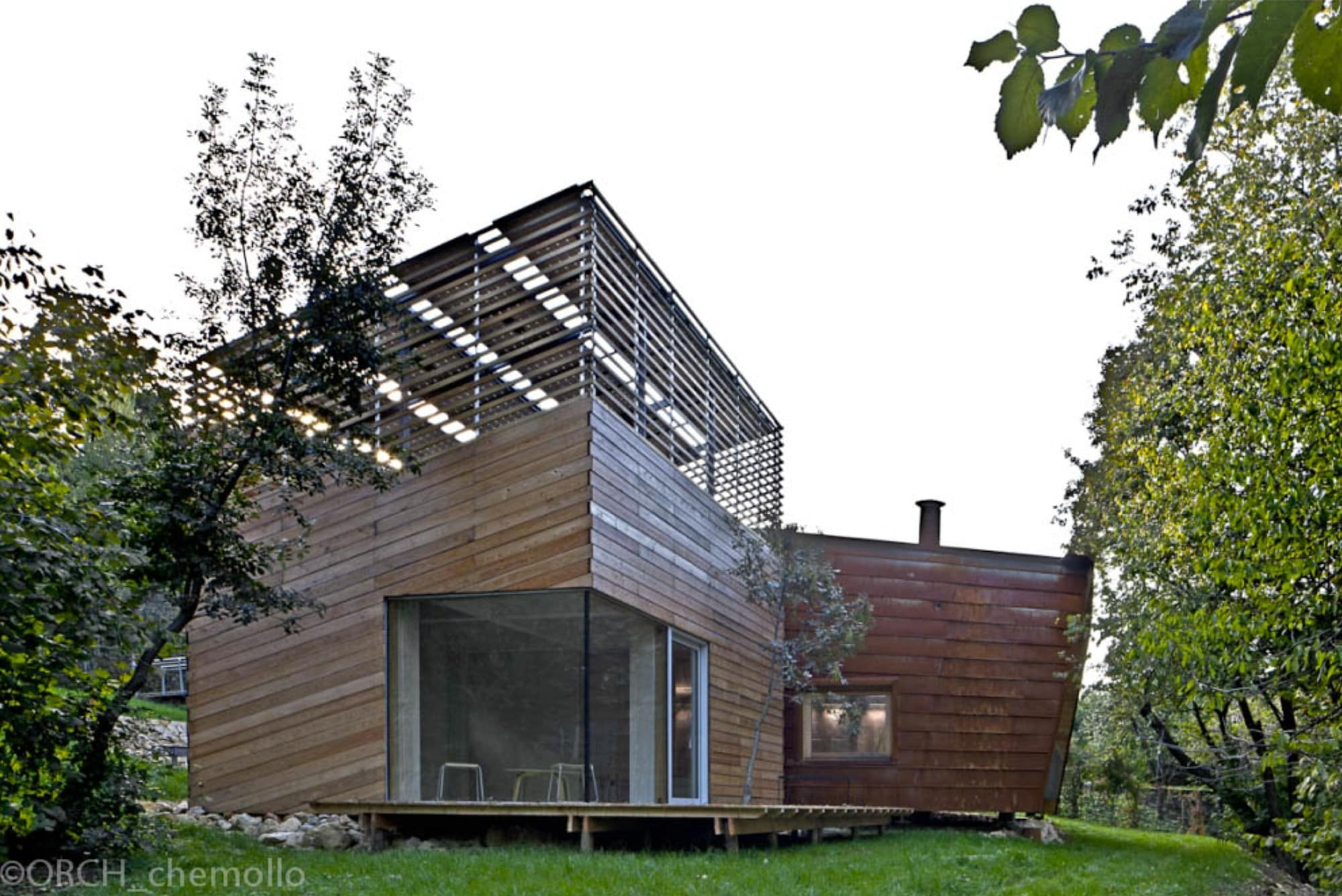 zero energy building by traverso vighy