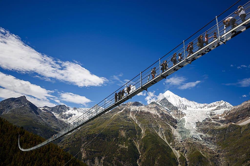longest pedestrian bridge