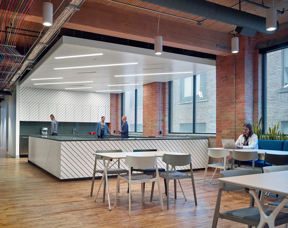 Slack Toronto Office interior